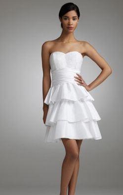 David's Bridal Cocktail Dress